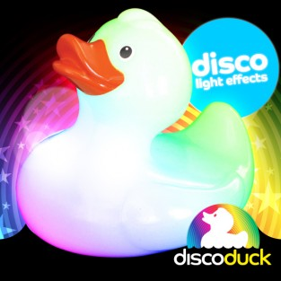 Light Up Bath Duck - Disco Duck