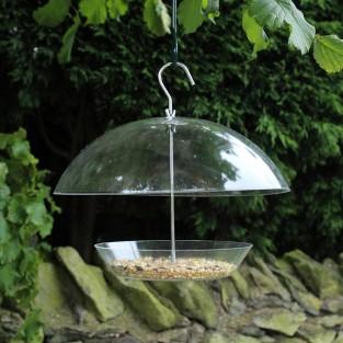 Dome Bird Seed Feeder