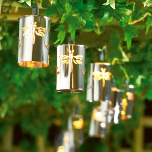 Dragonfly Cylinder Fairy Lights
