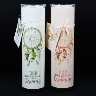 Dream Catcher Candle Tube
