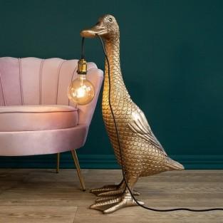 Ducky - Gold Duck Floor Lamp