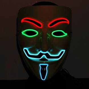El Wire Mens Mask