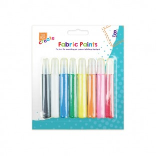 Fabric Paints (8 pack)