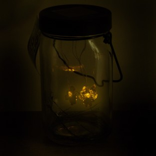 Glass Firefly Solar Lantern