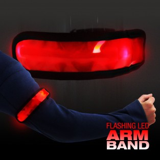 Flashing LED Armband