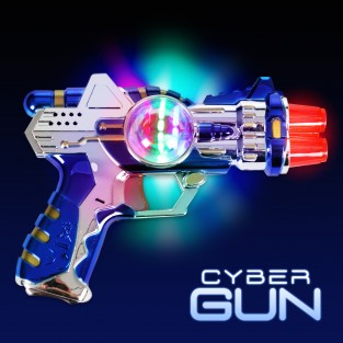 Flashing Cyber Gun
