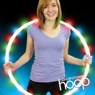 Light Up and Flashing Hoop Wholesale