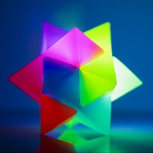 Spiky Prism Bouncy Ball