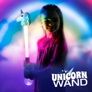Large Flashing Unicorn Wand