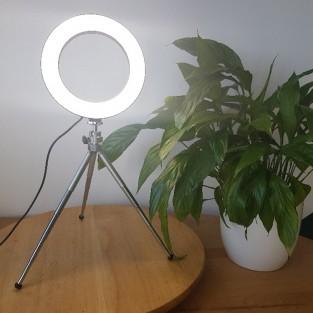 """Flexi 6"""" Ring Light - Whites"""