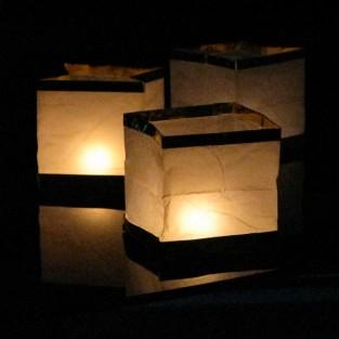Floating Box Lantern (3 Pack)