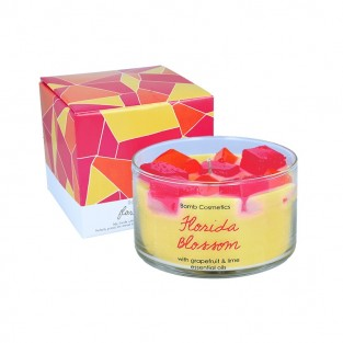 Florida Blossom Jelly Candle