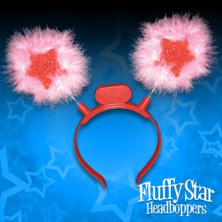 Furry Star Head Boppers Wholesale
