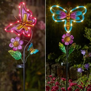 Solar Butterfly/Dragonfly Stake Light