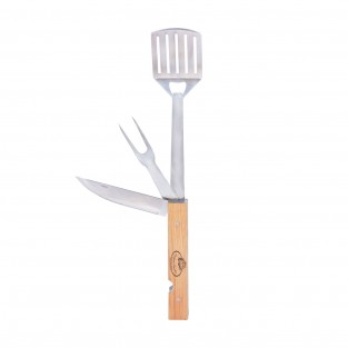 BBQ Tool 4 in 1 Foldable