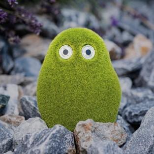 Funny Solar Grass Stone