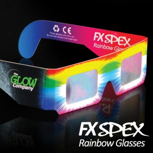 Wholesale FX Spex Rainbow Glasses Standard