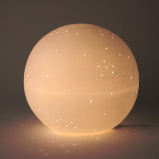 Galaxy Globe Porcelain Lamp