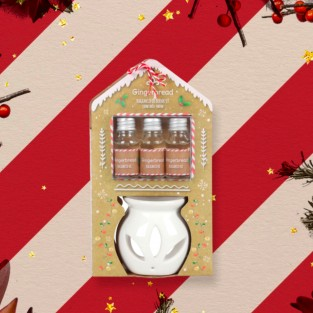 Gingerbread Oil Burner Giftset