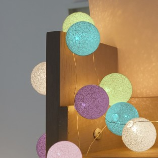 50 Glo-Globe String Lights Assorted