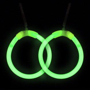 Glow Hoop Earrings