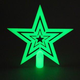 Glow in the Dark Tree Topper Star
