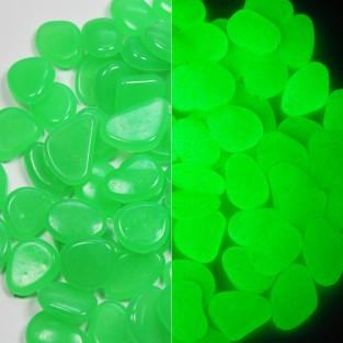 Glow Pebbles - Green