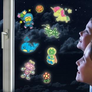 Glow Window Art