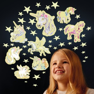 Glow Stars and Unicorns