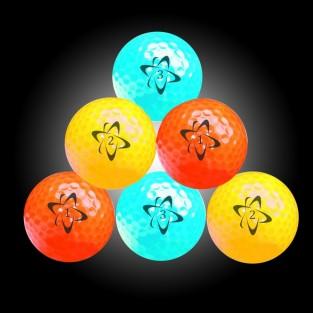 Atomic Hi-Vis Neon Golf Balls (6 pack)