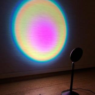 Halo Multi Colour & Effect Sunset Lamp