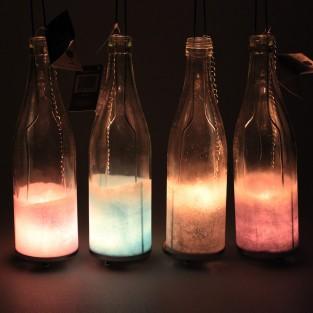 Hanging Bottle T-Light Holder