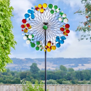 Harlequin Solar LED Wind Spinner