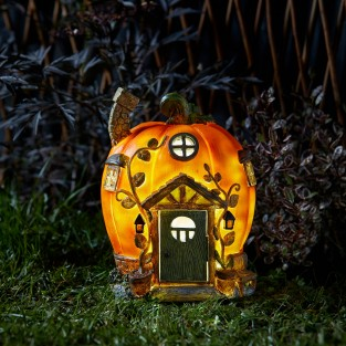 Humpkin Pumpkin Solar Fairy House