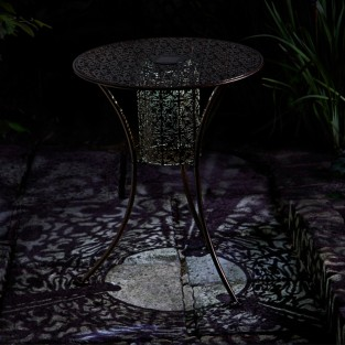 Solar Illumina Silhouette Lit Table