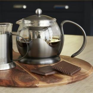 La Cafetiere Edited Gun Metal Grey 2 Cup Le Teapot