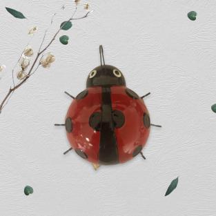 Ladybird Metal Wall Art