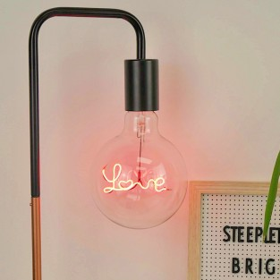 Love LED Filament Bulb