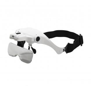 LED Magnifier Glasses