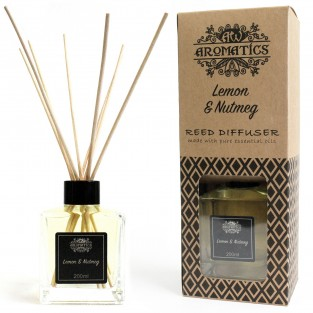 Lemon & Nutmeg Reed Diffuser 200ml