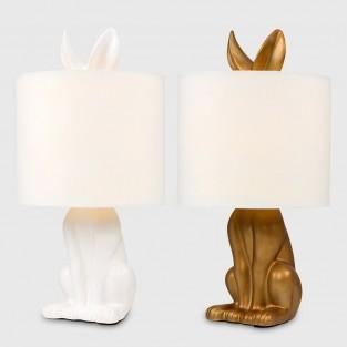 Lepus Matt Ceramic Hare Table Lamp