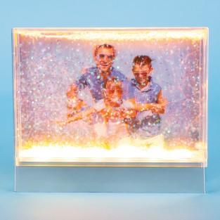 Light Up Glitter Frame