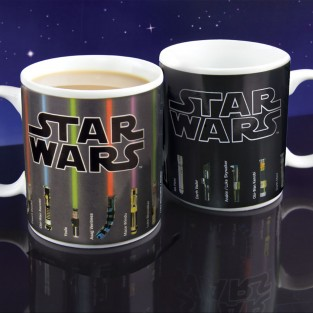 Lightsaber Heat Changing Mug
