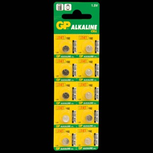 LR41 Batteries (10 Pack)