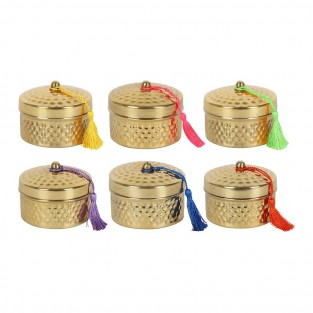 Luxury Scented Candles in Gold Pot