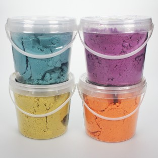 Space Dust Magic Modelling Sand (4 pack)