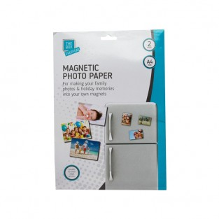 Magnetic Photo Paper (2 pack)