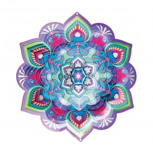 Mandala Lotus Wind Spinner
