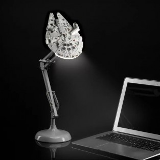 Millennium Falcon Poseable Table Lamp