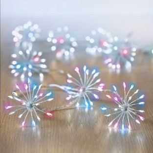 Micro Brights 400 LED Starburst Rainbow Lights